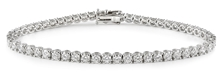 Picture of Tennis bracelet with white 2 carat diamonds