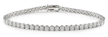 Picture of Classic bracelet with white 4 carat diamonds