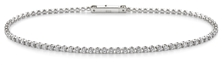 Picture of Tennis bracelet in 925 silver, 2.30 gr weight, with 80 crystals